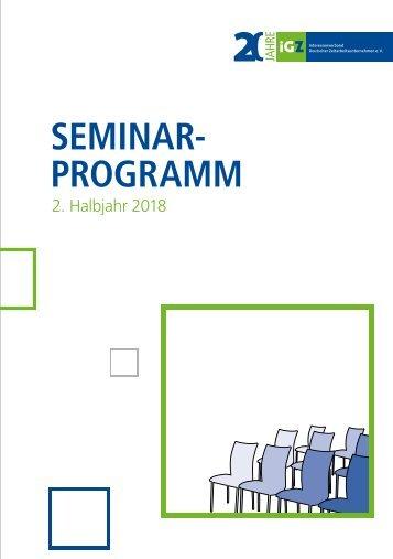 Seminarprogramm 02-2018