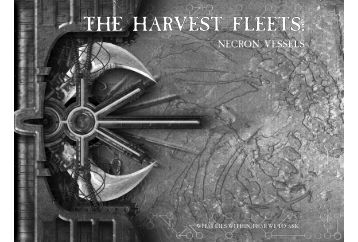 THE HARVEST FLEETS: - Games Workshop