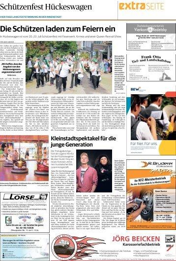 Schützenfest in Hückeswagen  -18.07.2018-