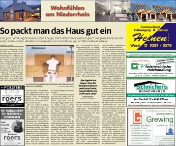 Wohnfühlen am Niederrhein  -18.07.2018-