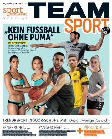 sportFACHHANDEL TEAMsport 02_2018