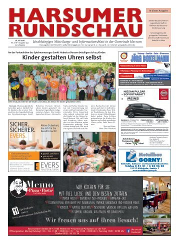 Harsumer Rundschau 26.07.18