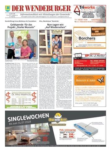 Der Wendeburger 27.07.18