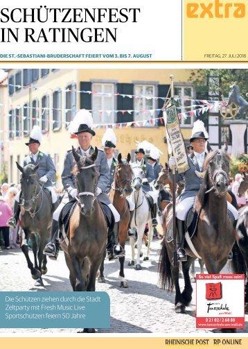 Schützenfest in Ratingen  -27.07.2018-