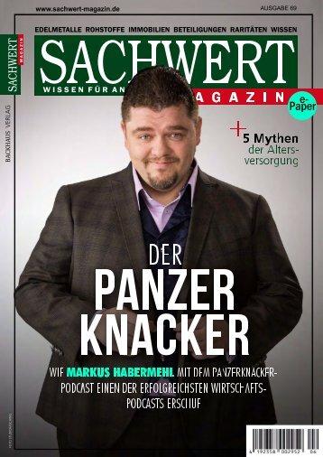 Sachwert Magazin e-Paper Ausgabe 69, Juli 2018