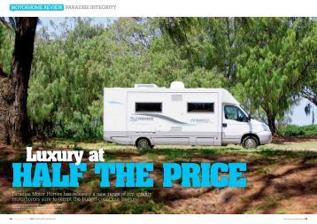 Half The Price Luxury At - Paradise Motor Homes