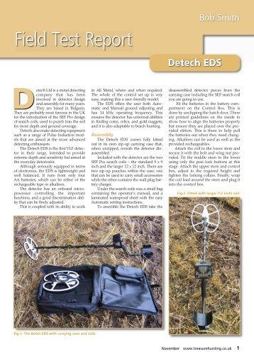 Click to View Field Test Report - Joan Allen Metal Detectors