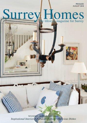 Surrey Homes | SH46 | August 2018 | Wedding supplement inside