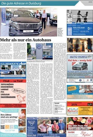 Die gute Adresse in Duisburg  -03.08.2018-