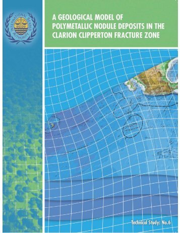 Technical Study: No. 6 - International Seabed Authority