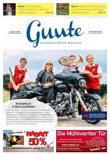 Guute August 2018