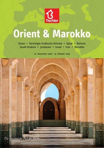 Tischler Reisen - Orient & Marokko 2018-19
