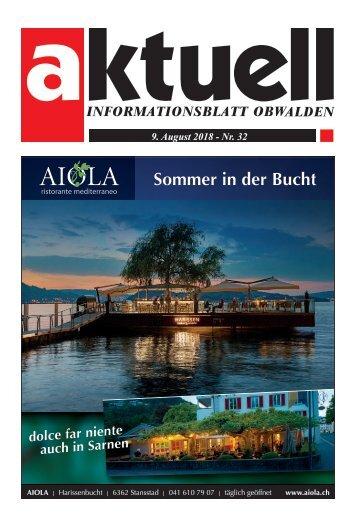 Aktuell Obwalden 32-2018