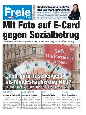 Mit Foto auf E-Card gegen Sozialbetrug