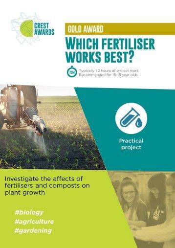 Which fertiliser