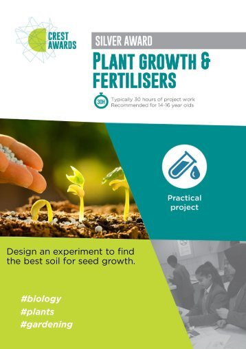 Plant growth and fertilisers