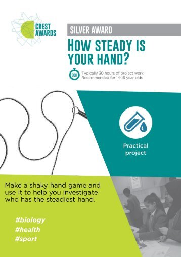 How steady is your hand