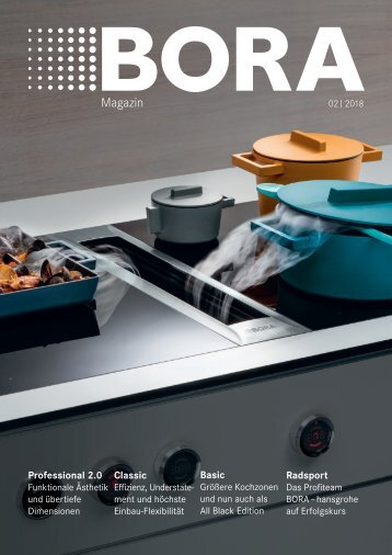 BORA Magazin 02|2018 – Deutsch
