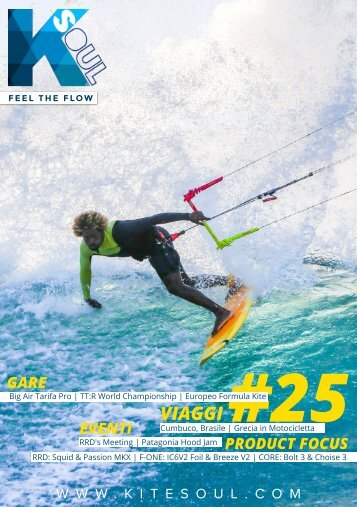 Kitesoul Magazine #25 Edizione Italiana