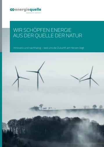 energiequelle Imagebroschüre