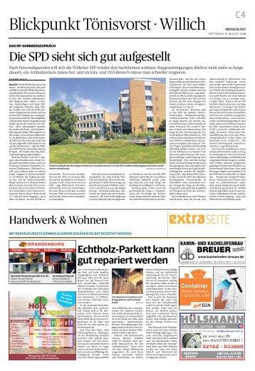 Handwerk & Wohnen  -15.08.2018-