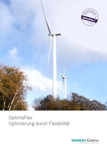 Siemens Gamesa Renewable Energy OptimaFlex