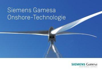 Siemens Gamesa Onshore-Technologie