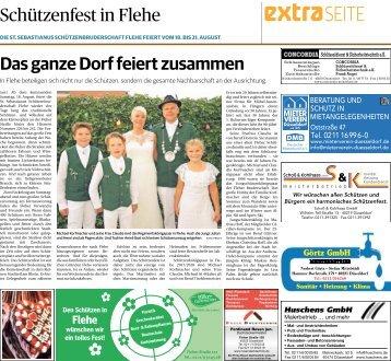 Schützenfest in Flehe  -17.08.2018-