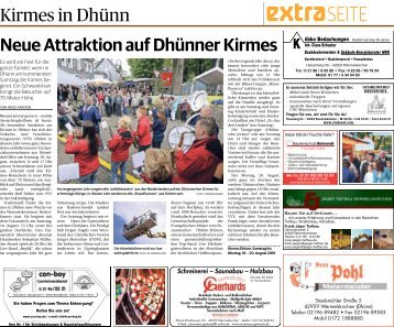 Kirmes in Dhünn  -17.08.2018-