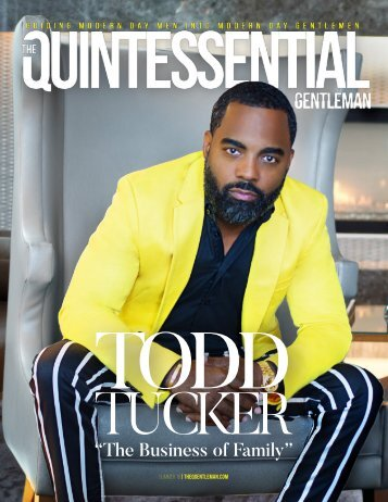 Todd Tucker | The Quintessential Gentleman