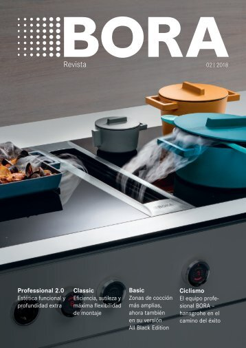 BORA Magazine 02|2018 – Spanish