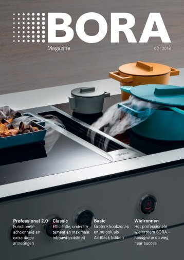 BORA Magazine 02|2018 – Dutch