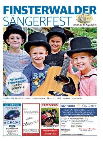 Finsterwalder Sängerfest 2018