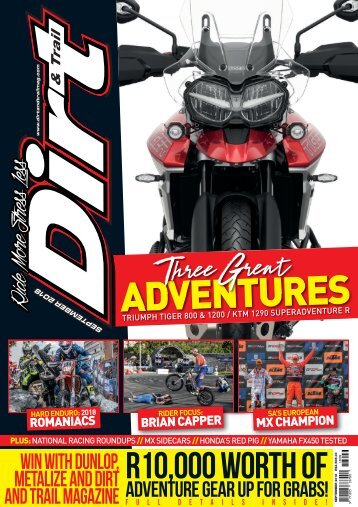 Dirt and Trail September 2018