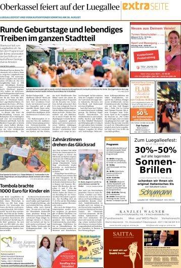 Oberkassel feiert auf der Luegallee  -24.08.2018-
