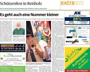 Schützenfest in Reisholz  -24.08.2018-