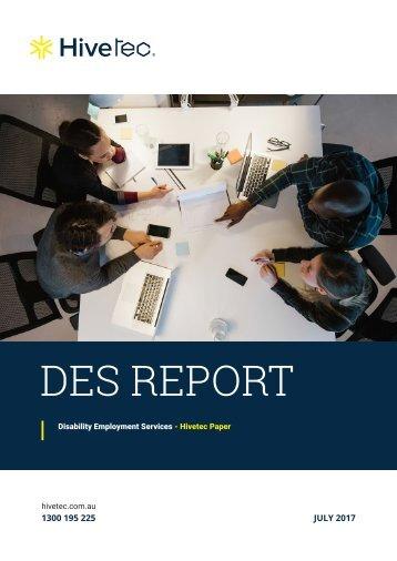 Hivetec-DES-Report-V1.4