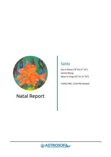Natal Report Saida