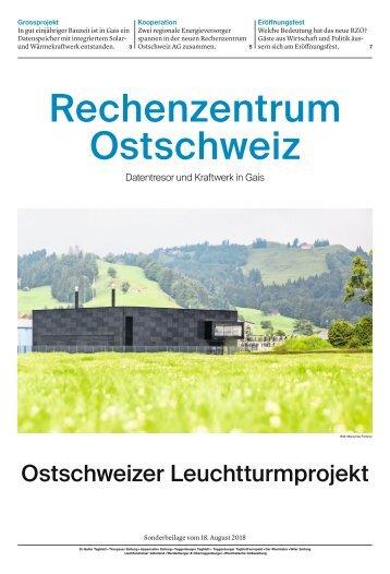 Sonderbeilage Rechenzentrum Ostschweiz