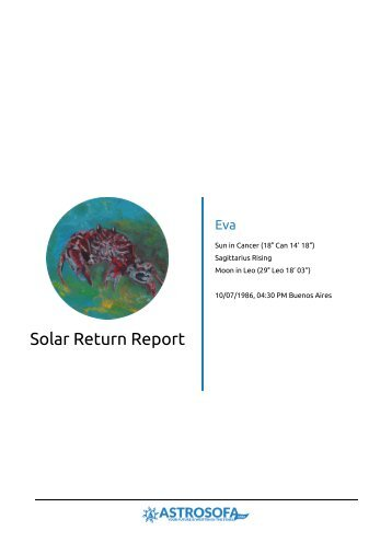 Solar Return Eva