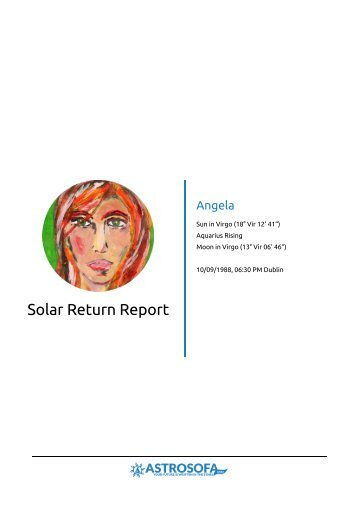 Solar Return Angela