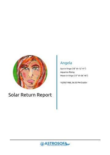 Solar Return Angela