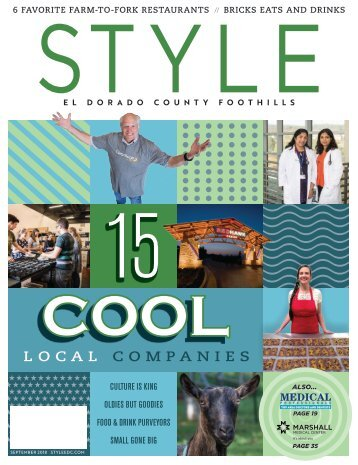 Style El Dorado County and Foothills; September 2018