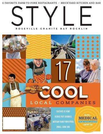 Style Magazine, Roseville, Granite Bay, & Rocklin; September 18