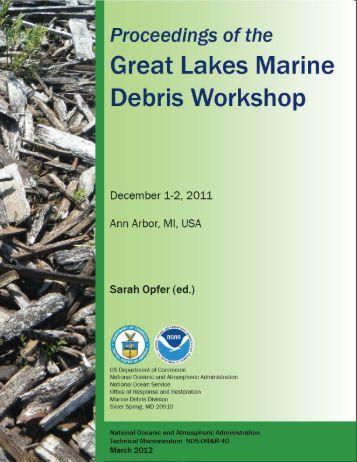 workshop proceedings - NOAA Marine Debris Program