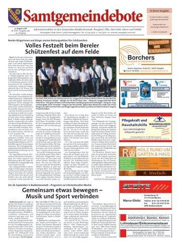 Samtgemeindebote 31.08.18