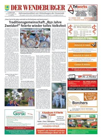 Der Wendeburger 31.08.18