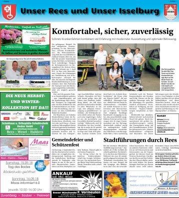 Unser Rees und Unser Isselburg -30.08.2018-