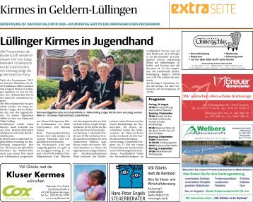 Kirmes in Geldern-Lüllingen -30.08.2018-