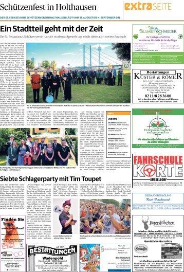 Schützenfest in Holthausen -30.08.2018-